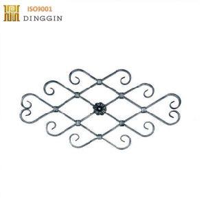 安い錬鉄のゲートデザインまたは錬鉄のBalustersは卸し売りする