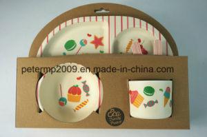Eco Friendly et la saine Fibre de bambou Kids Dîner