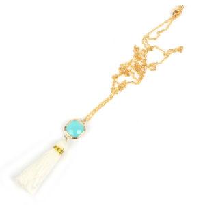 Juwelen van de Halsband van de Leeswijzer van de Tegenhanger van het Kristal van de Ketting van Boheemse Vrouwen de Gouden Geplateerde