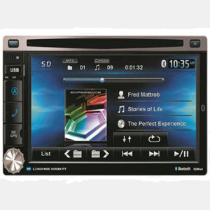 Car MP3를 가진 6.2inch Two DIN Car Video DVD Player