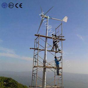 2KW Turbina Eólica 24V/48V gerador de CA do vento baixa velocidade do vento