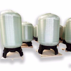 Serbatoi del filtro dal serbatoio FRP del depuratore di acqua di uso di trattamento delle acque FRP con il prezzo basso