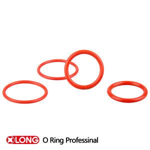 Cor vermelha personalizada 60 Shore NBR o anel de vedação de borracha