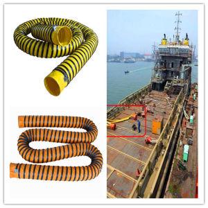 Conduit d'échappement flexible en PVC de ventilation