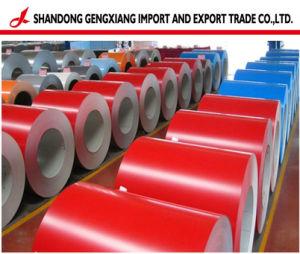 Fabricante de cruce caliente PPGI galvanizado recubierto de color/bobinas de acero prebarnizado