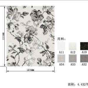モザイクTile Pictures Pattern Classical Mosaic Mural WhiteおよびBlack Glass Mosaic