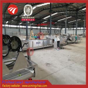 Línea de procesamiento de verduras con el lavado de burbujas de aire de corte / máquina de secado