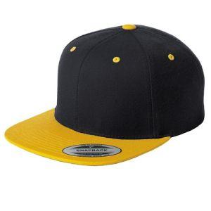 Novo Tom duas chapéu de Beisebol Snapback plana em branco de base simples Bill Pac