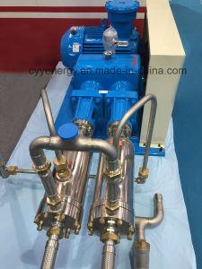 Cyyp 54 Servicio ininterrumpido gran caudal y de alta presión de oxígeno líquido de GNL de Argón Bomba de pistón de nitrógeno multiseriados