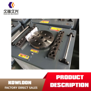 Piegatrice di barra d'acciaio di alta qualità 40mm, macchina piegatubi della barra d'acciaio