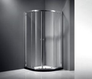 セクターの形アルミニウムフレームのシャワーの小屋のシャワー機構