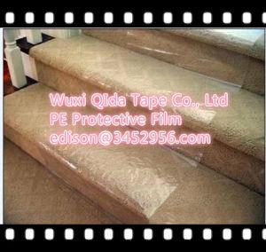 Film de protection de surface pour les tapis