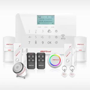 スマートなホーム無線電信GSMの警報システム