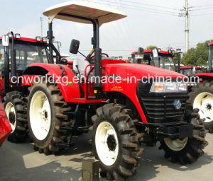 De nieuwe Tractoren van de Tractoren 4WD 100HP van het Landbouwbedrijf van de Aankomst voor Verkoop