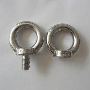 Grande dureté DIN580 Boulon à oeil et écrou à oeil DIN582 pour le matériel de série