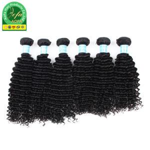 Pranchas em bruto natural Indian Encaracolado Cutículas saudáveis cabelos humanos de alta qualidade