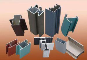 L'espulsione di alluminio di Metarial della costruzione/si è sporta profilo di alluminio per il portello di Windows
