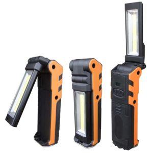 3W Vouwbare het Werk van de MAÏSKOLF Lichten (BR-6160) USB die de Krachtige Flitslichten van het Lithium aanvulling