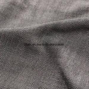 Gris oscuro tejido Tejido de poliéster dobby Cusion