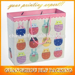Рекламные бумажные мешки магазинов Custom