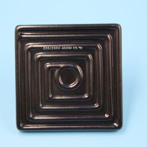 Processo radiante aquecimento por infravermelhos de cerâmica preta