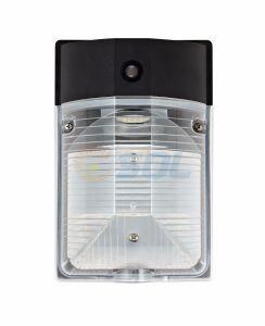 UL cUL влажные Dlc квалифицированных 17Вт Светодиодные настенные Pack настенный светильник с фотоэлемент