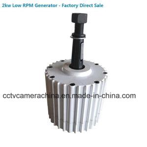 generatore sincrono a magnete permanente basso di CA RPM di 2kw 48V (SHJ-NEG2000)