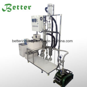 Court chemin d'appareils de distillation