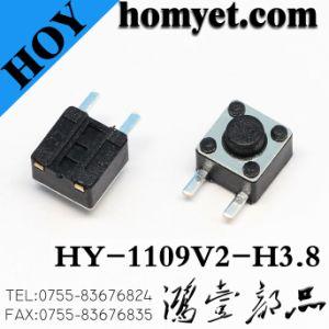 4.5*4,5 mm de 4pin SMT Interruptor táctil tact switch SMD (HY-1109S)
