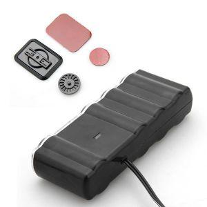 Encendedor de cigarrillo cigarro de energía de coche zócalo adaptador divisor de 4 vías con 2 puerto USB