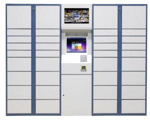 Intelligenter ausdrücklichgeschäftsverkehr-elektronisches Paket-Anlieferungs-Schließfach