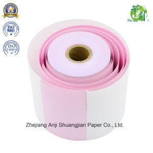 Toque suave de 2 camadas do rolo de papel para autoduplicação