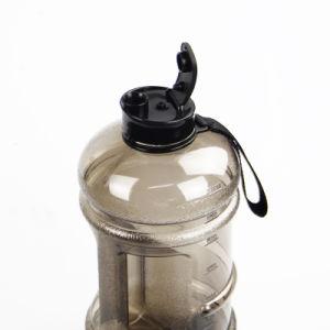 Bottiglia di acqua di plastica personalizzata di grande capienza con la protezione e la maniglia