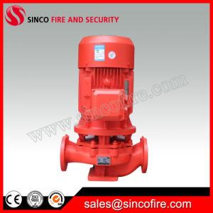 A extremidade de circulação Eengine diesel de combate a incêndio de sucção da bomba de água centrífuga