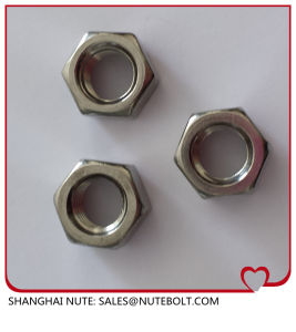 En acier inoxydable 304 316 d'écrous hexagonaux M24 DIN934