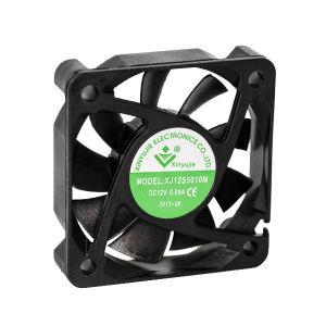 Xj5012 2pouce haute vitesse 50x50x12mm DC d'Échappement Ventilateur axial du ventilateur de refroidissement pour chargeur de batterie 5V/12V/24V