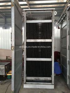 La soldadura por láser de tipo placa de acero inoxidable del intercambiador de calor