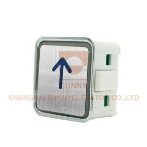 Transparente Plastikzeichen mit Blindenschrift für Höhenruder-Aufruf-Taste (SN-PB210)