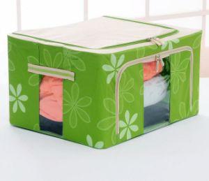 La ropa de cama y una manta Manta de tela Bolsa de almacenamiento con tapa