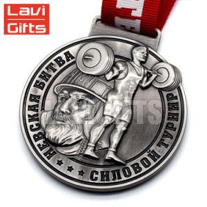 Venta caliente la Fundición de aleación de zinc personalizada Premio personalizado trofeos y la Medalla de China