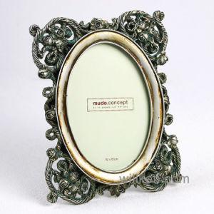 Пластмассовый старинной золотой эпохи барокко рамка для фотографий