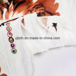 2018 Nuevo patrón de seguidor de impresión tejido sofá