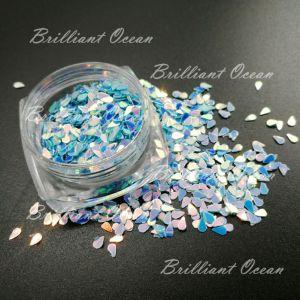 釘の美の装飾のための輝きの水低下のShaoeのきらめきのスパンコール
