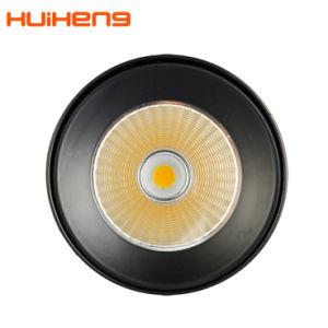 El cilindro 20W de mazorca negra montado en la superficie del techo ronda foco LED luz tenue