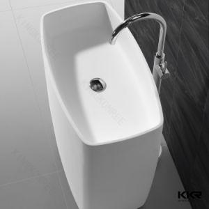 5 étoiles Hôtel Salle de Bain lavabo sur pied en Surface solide
