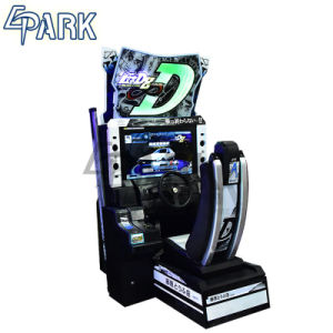 De muntstuk In werking gestelde het Drijven van de Auto van de Arcade Aanvankelijke D8 het Rennen van de Simulator Machine van het Spel
