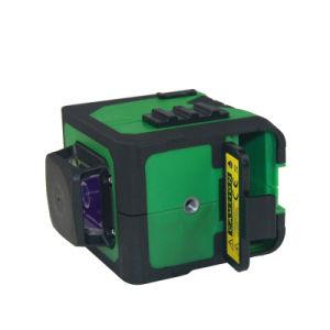Twee Hulpmiddelen van de Hand van 360 Graden om het Zelf Nivellerende Hoge Nauwkeurige en Compacte Groene Niveau van de Laser van de Straal Te vloeren en Te betegelen
