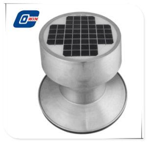Чердак солнечной вытяжной вентиляции солнечная панель вентилятора