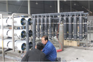 12000L/H RO 시스템 물처리 공장 식용수 정화
