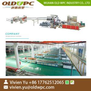 Spc PVCプラスチックビニールの板のフロアーリングの生産機械ライン